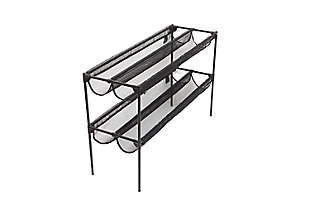 Umbra Stackable 16 Pair Shoe Sling Rack, , large