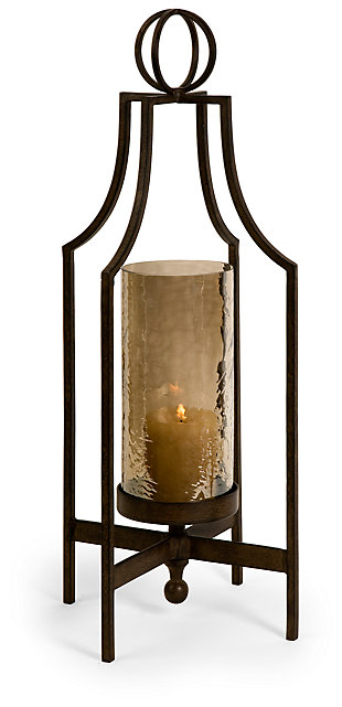 Home Accents Bauer Iron Candleholder, , large