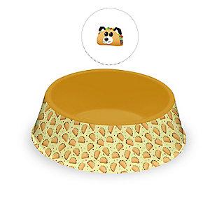 "TarHong Fun Food Taco Dog Pet Bowl, Large, 9.8"" x 2.8""/ 6 Cups, Melamine, Set of 2, , large"