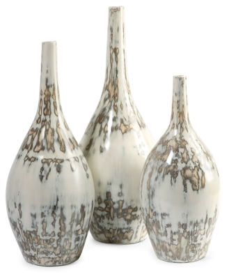 Ashley Home Accents Hampton Mexican Pottery Vases (Set of...