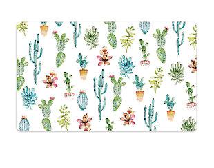 """TarHong Cactus Pet Placemat, 11.5"""" x 19"""", PVC + EVA Foam, Set of 2, , large"""