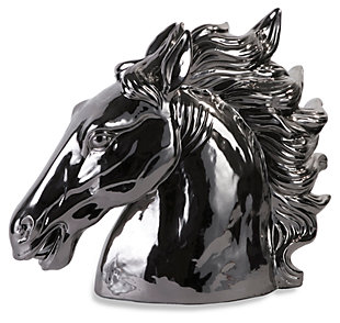 Home Accents Silver Stallion Bust, , large