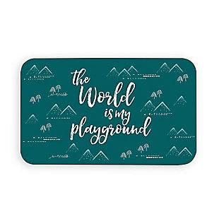 "TarHong Playground Pet Placemat, 11.5"" x 19"", PP + EVA Foam, Set of 2, , rollover"