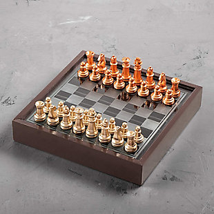 Chess Game with Wooden Box, , rollover