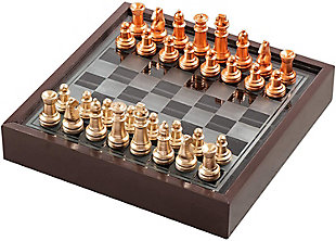 Chess Game with Wooden Box, , large