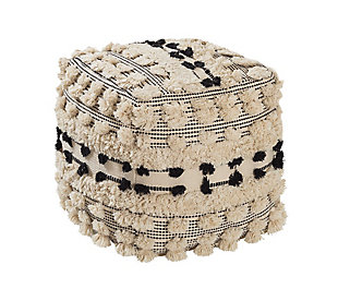 TOV Balhi Cotton Pouf, , large
