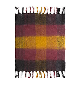TOV Afrino Wool Colored Throw, , large