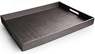 Gray Rectangular Tray, , rollover