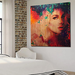 """Hidden in Colors 38"""" x 38"""" Giclee on Canvas, , rollover"""