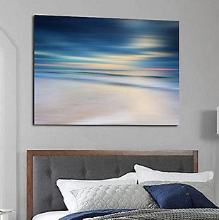 "Morning Beach 32"" x 48"" Reverse Printed Acrylic, , rollover"