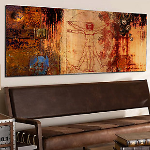 """Mechanics of the Body 40"""" x 16"""" Giclee on Canvas, , rollover"""