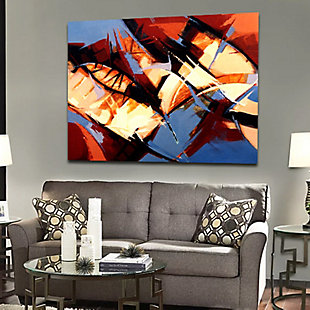 """Abstract Stems 30"""" x 40"""" Giclee on Canvas, , rollover"""