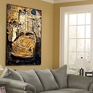 """Golden Cab 38"""" x 54"""" Giclee on Canvas, , rollover"""
