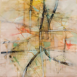 "Cream Dream 38"" x 38"" Giclee on Canvas, , large"