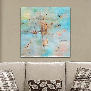 "Light Blue Dream 38"" x 38"" Giclee on Canvas, , rollover"
