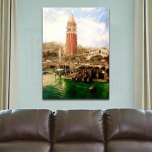 "St Mark's Campanile Venice 38"" x 54"" Giclee on Canvas, , rollover"