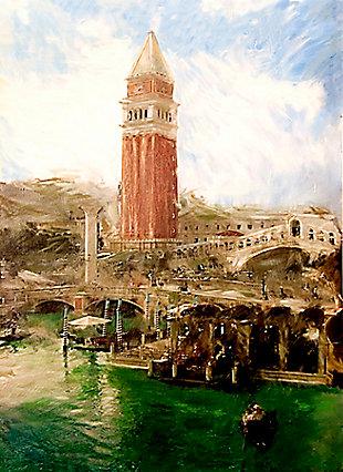 "St Mark's Campanile Venice 38"" x 54"" Giclee on Canvas, , large"