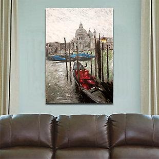 "Venice Dock 38"" x 54"" Giclee on Canvas, , rollover"