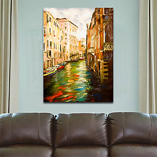 """Venice River 38"""" x 54"""" Giclee on Canvas, , rollover"""