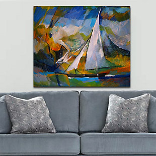 """Sailing the Sea 30"""" x 40"""" Giclee on Canvas, , rollover"""
