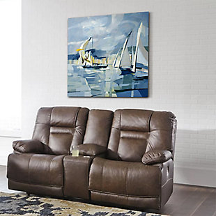 """Windy Sailing 30"""" x 30"""" Giclee on Canvas, , rollover"""