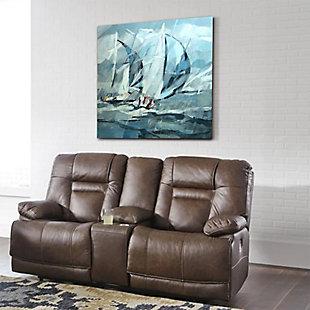 "Rainy Sailing 30"" x 30"" Giclee on Canvas, , rollover"