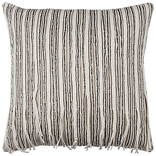 Home Accents Embellished Stripes Decorative Throw Pillow, , large