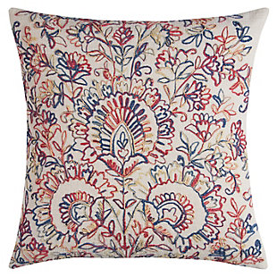 Home Accents Floral Medallions Decorative Throw Pillow, , large
