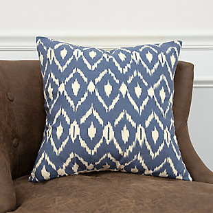 Home Accents Geometric Ikat Decorative Throw Pillow, , rollover