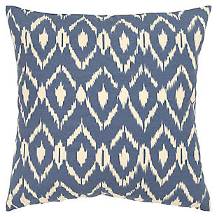 Home Accents Geometric Ikat Decorative Throw Pillow, , large
