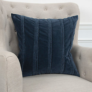 Home Accents Pintuck Stripes Decorative Throw Pillow, , rollover