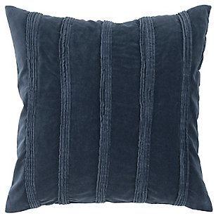 Home Accents Pintuck Stripes Decorative Throw Pillow, , large