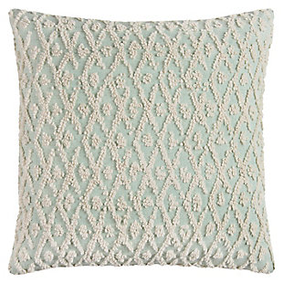 Home Accents Textured Lattice Decorative Throw Pillow, , large