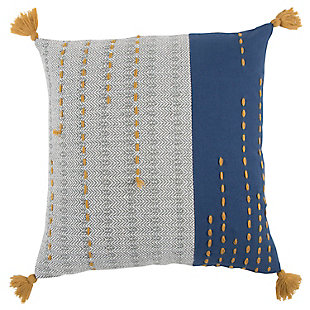 Home Accents Stripe Decorative Throw Pillow, , large