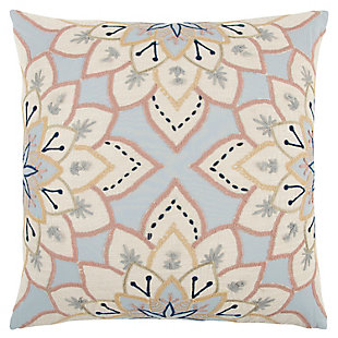 Home Accents Floral Decorative Throw Pillow, , large
