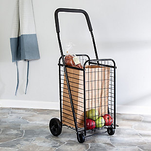 Honey-Can-Do Four Wheel Utility Cart, , rollover