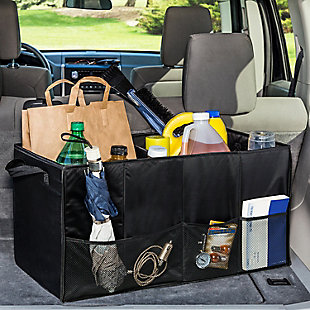 Honey-Can-Do Collapsible Large Folding Trunk Organizer, , rollover
