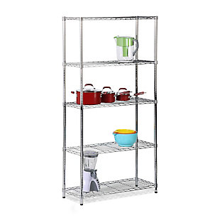 Honey-Can-Do Five Tier Shelving Unit, , large