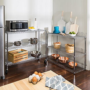 Honey-Can-Do Six Tier Urban Shelving Unit, , rollover