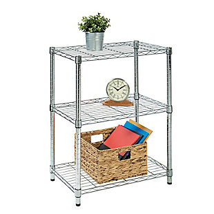 Honey-Can-Do Three Tier Adjustable Shelving Unit, , large