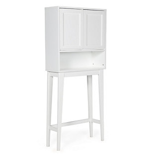 Simpli Home Draper Over The Toilet Space Saver Bath Cabinet, , large