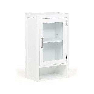Simpli Home Gatsby Single Door Wall Bath Cabinet, , large