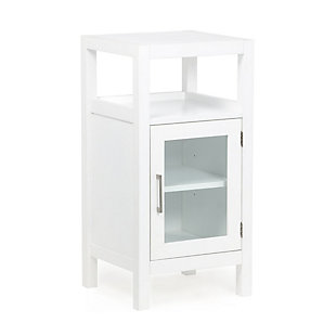 Simpli Home Gatsby Floor Storage Bath Cabinet, , large