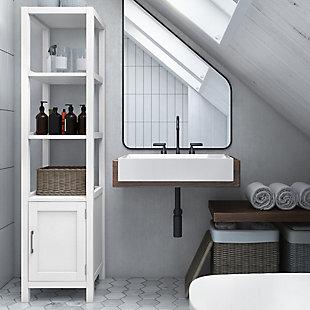 Simpli Home Gatsby Bath Storage Tower, , rollover