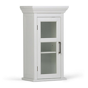 Simpli Home Avington Single Door Wall Cabinet, , large