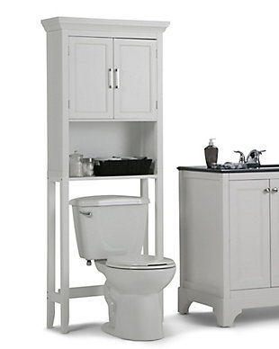 Simpli Home Avington Space Saver Bath Cabinet, , rollover