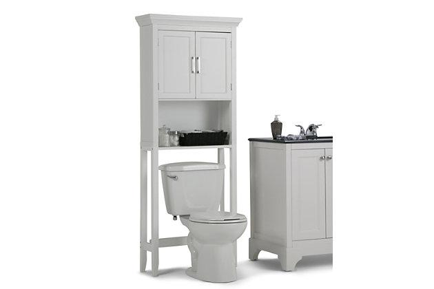 Simpli Home Avington Space Saver Bath Cabinet, , large