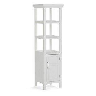 Simpli Home Avington Bath Storage Tower, , large