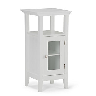 Simpli Home Acadian Floor Storage Bath Cabinet, , large