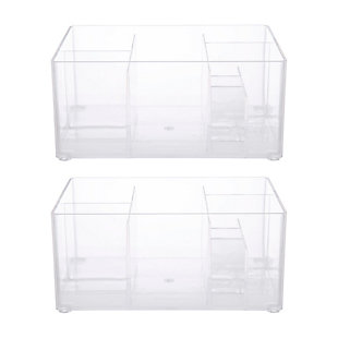 Kenney Storage Made Simple Drawer Organizer Bin, 8 Compartments, Set of 2, , rollover
